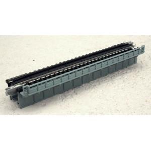 Unitrack Deck Plate Girder Bridge - Grey